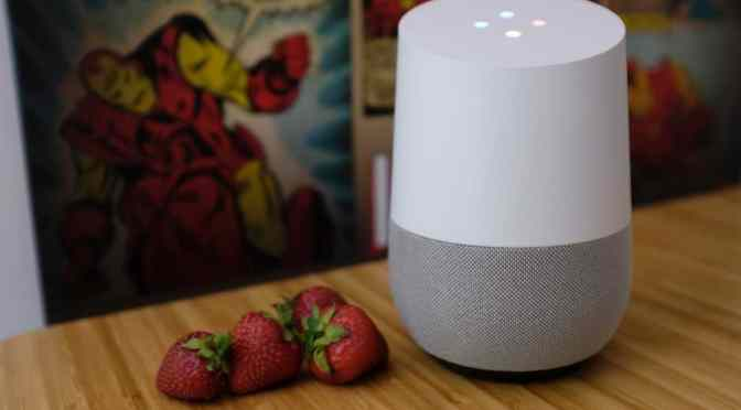 Google Home – l'intelligence artificielle domestique