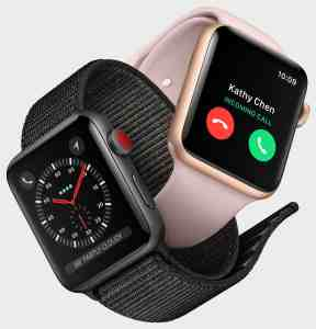 Apple Watch Series 3 cellulaire