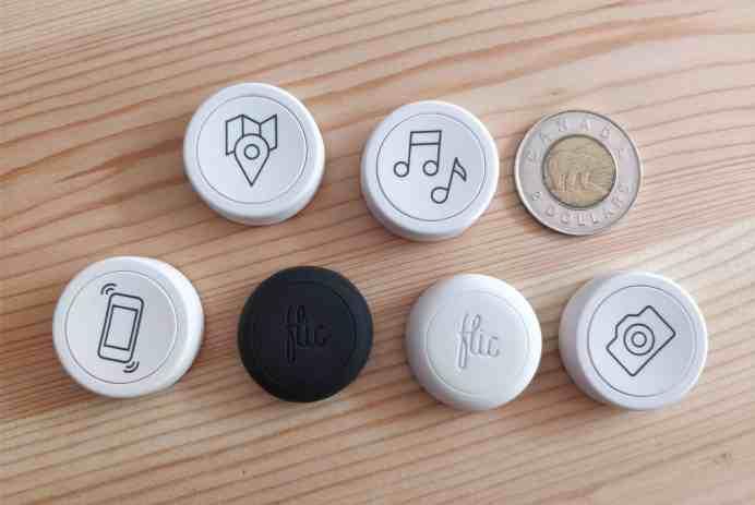 boutons flic bluetooth contrôle musique domotique