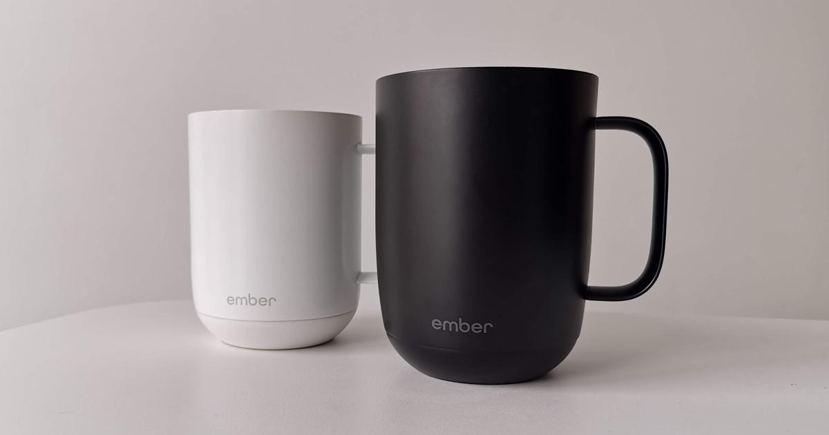tasse ember mug chauffante 10 et 14 onces