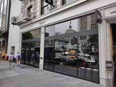 Dyson boutique San Francisco geek
