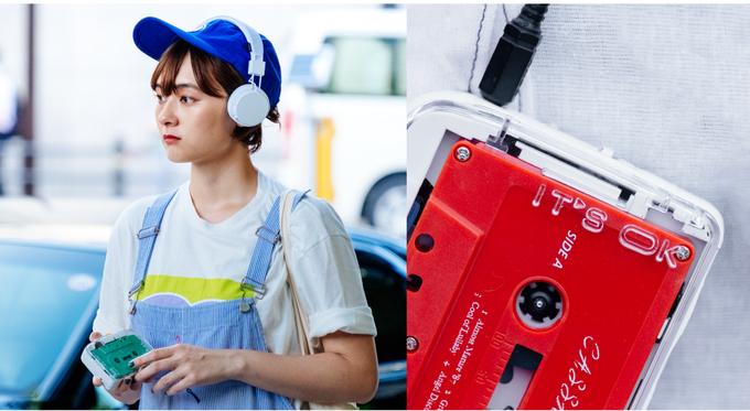 lecteur cassette Bluetooth walkman