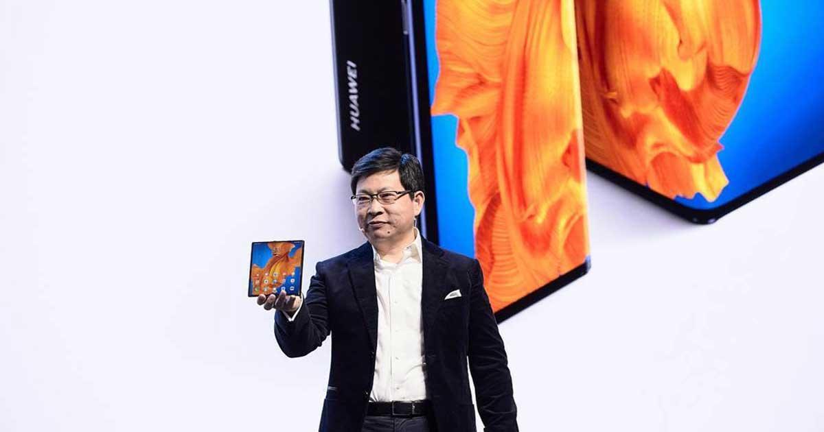 Téléphone pliable lancement Mate Xs Barcelone Huawei 2020 services google