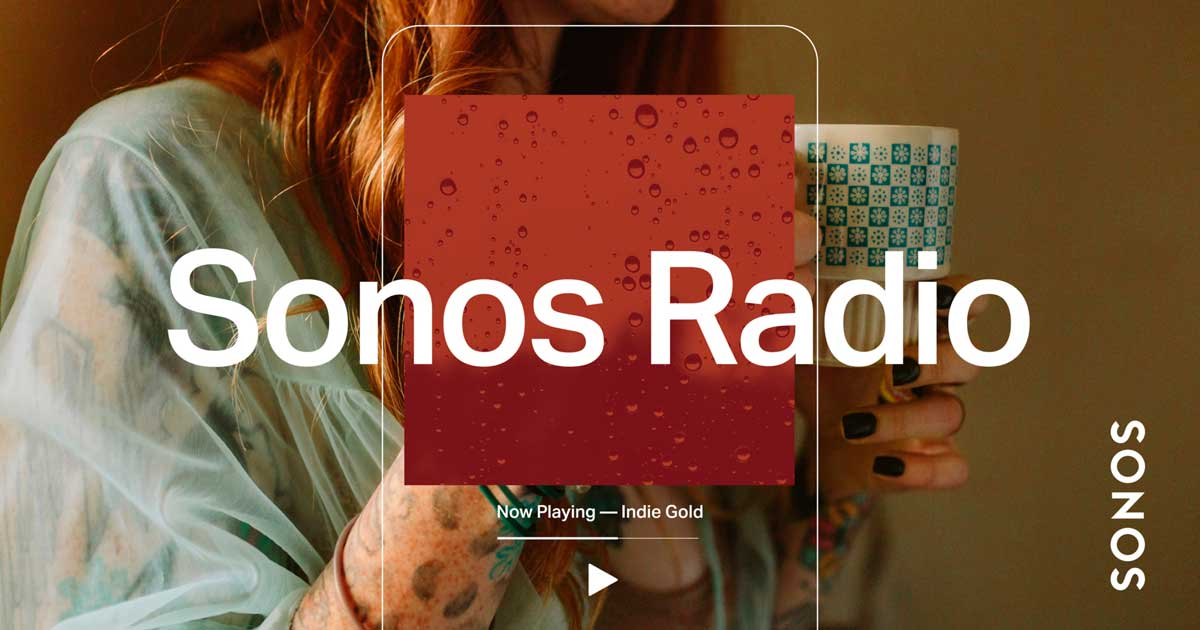 sonos radio web haut-parleurs