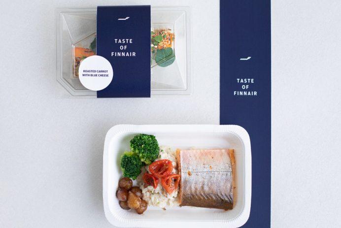 repas d'avion finnair