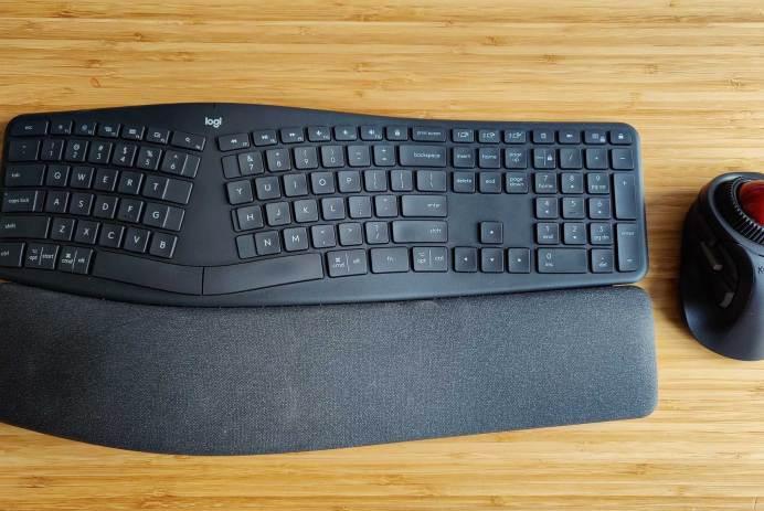 Logitech k860 ergonomique Orbit Fusion Logitech