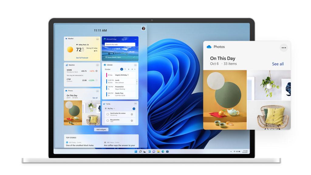 windows 11 microsoft écran nouveautés