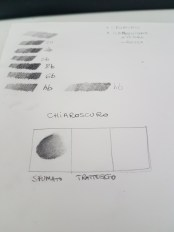 Toni matite e chiaroscuri