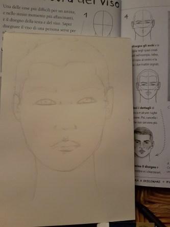 Studio ovale e testa 3