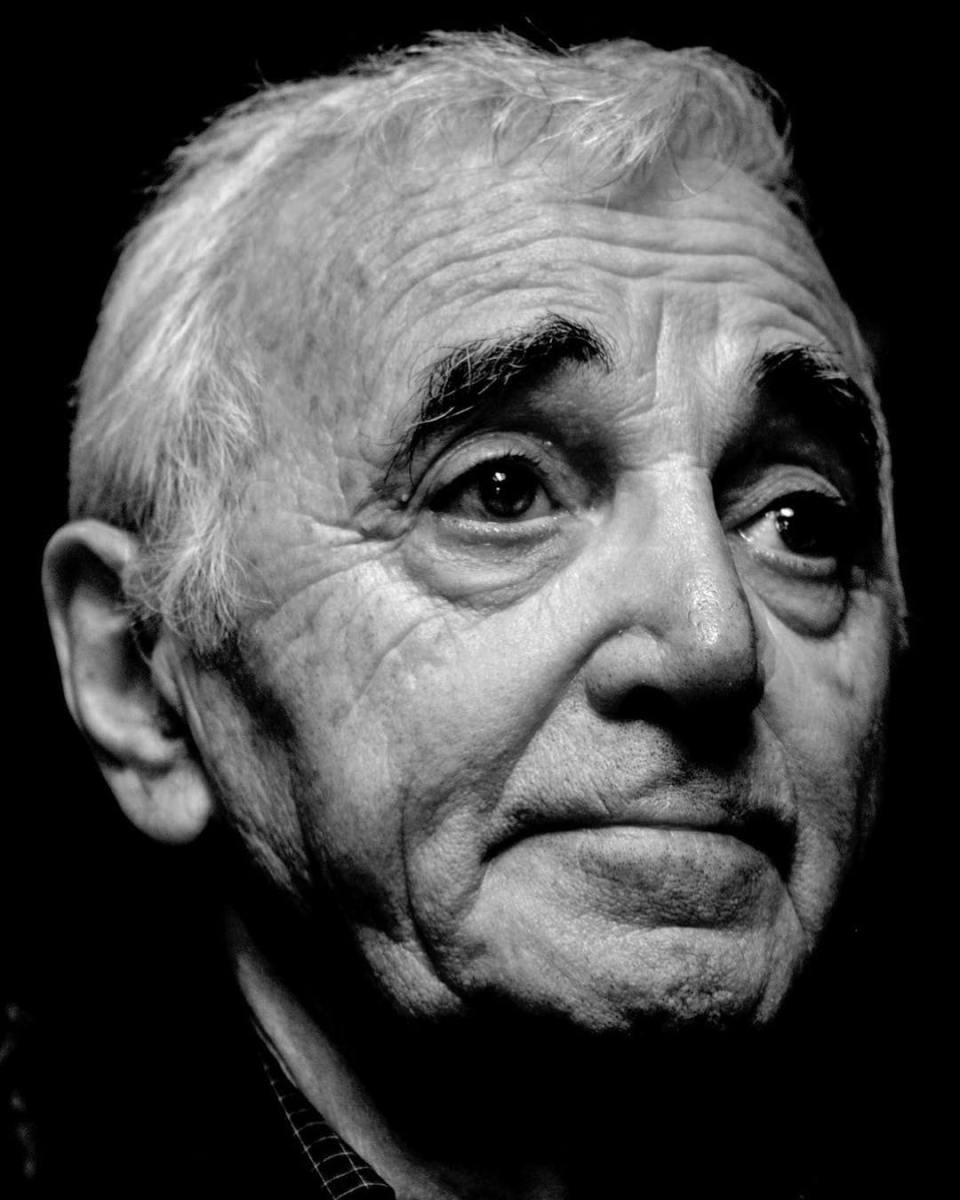 Charles Aznavour, one of my first portraits. RIP Charles. #aznavour #charlesaznavour #aznavourian #singer #famous #star #laboheme #rip #portrait #portraitphotography #bnwportrait #blackandwhite #blackandwhitephotography #bnw #portraits #france #artist #instagood #instalike @charlesaznavour_official