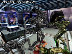 Petit ScreenShot du jeu Alien Vs Predator