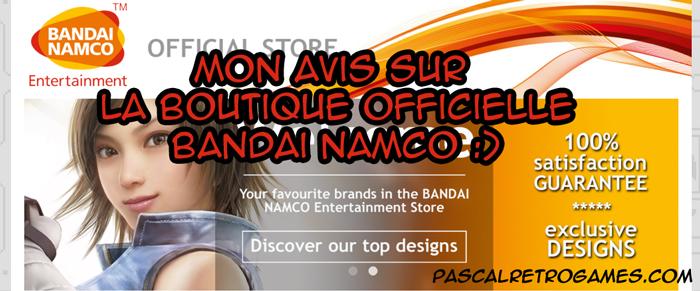 Bandai Namco boutique officielle