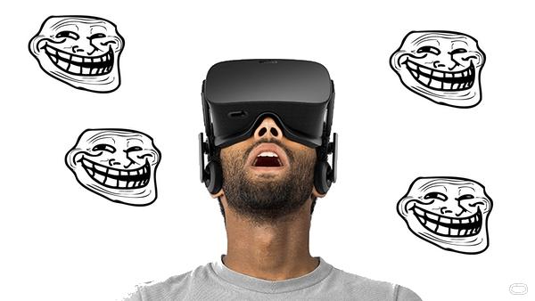 Oculus Rift blague