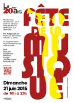 Infographiste Rouen Pascal Ridel Affiche Carte de voeux Fete de la musique