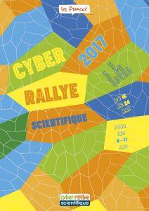 Infographiste Rouen Pascal Ridel Plaquette Cyber rallye scientifique 2017
