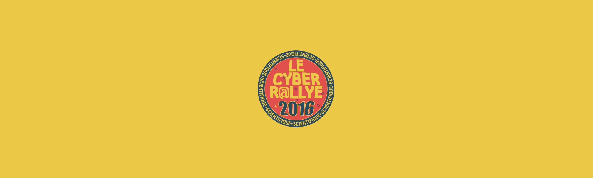Infographiste Rouen Pascal Ridel affiche cyber rallye 2016