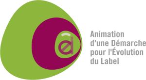 Infographiste Rouen Pascal Ridel Création logo Adel aplat rose long la Fapil