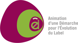 Infographiste Rouen Pascal Ridel Création logo Adel aplat vert long la Fapil