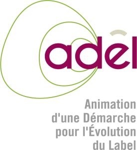 Infographiste Rouen Pascal Ridel Création logo Adel évolution rose long la Fapil