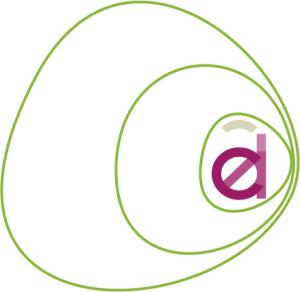 Infographiste Rouen Pascal Ridel Création logo Adel vignette rose la Fapil