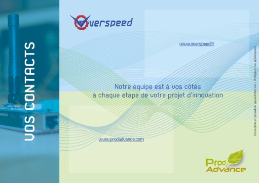 Pascal Ridel Infographiste Rouen plaquette entreprise Overspeed