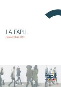 Infographiste Rouen Pascal Ridel - Couverture Rapport activité