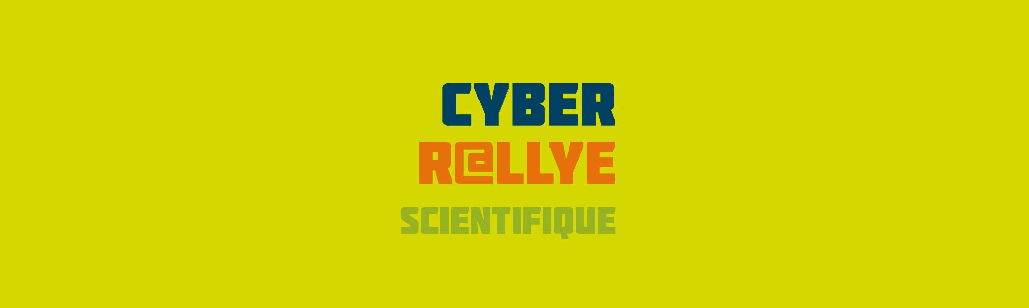 Banniere - Communication visuelle - Cyber Rallye 2018