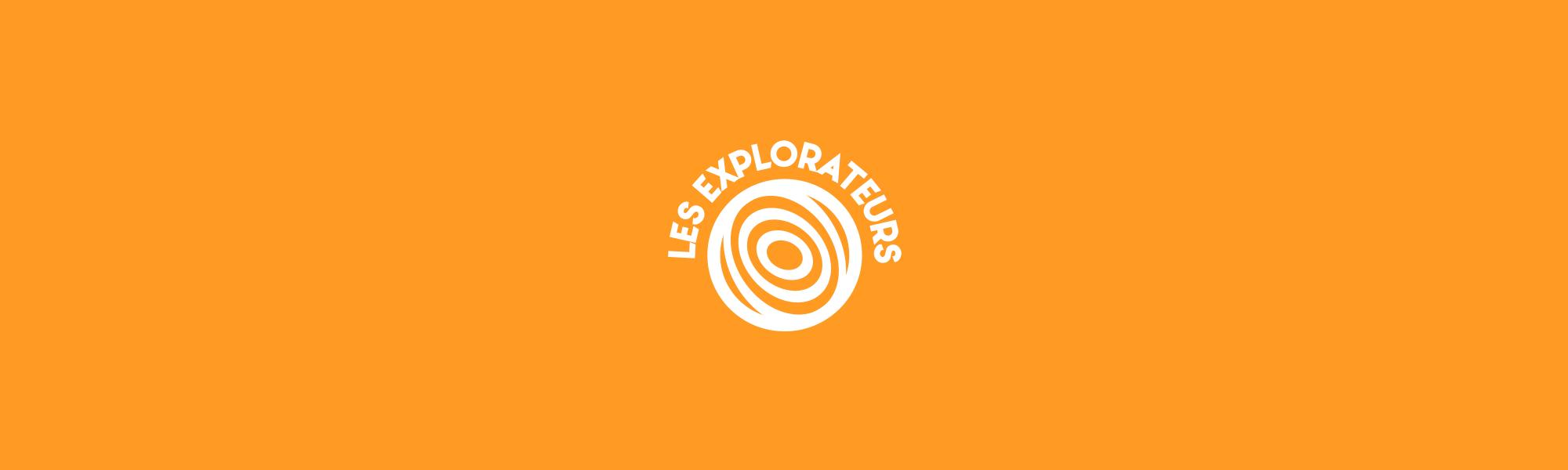 Bannière - Recherche identité visuelle - les explorateurs