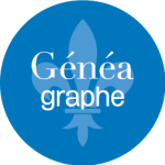 Logo GénéaGraphe Pascal Ridel Infographiste Rouen