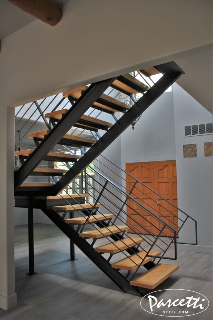 Self Supporting Steel Stair Unit Pascetti Steel Design Inc