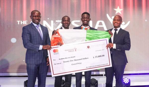 Anzisha $100,000 Prize