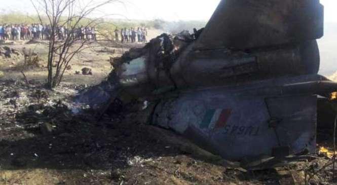 भारतीय सैन्य विमान दुर्घटना
