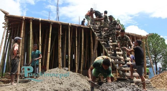 बेलासपुर मन्दीर निर्माणमा बजेट संकट