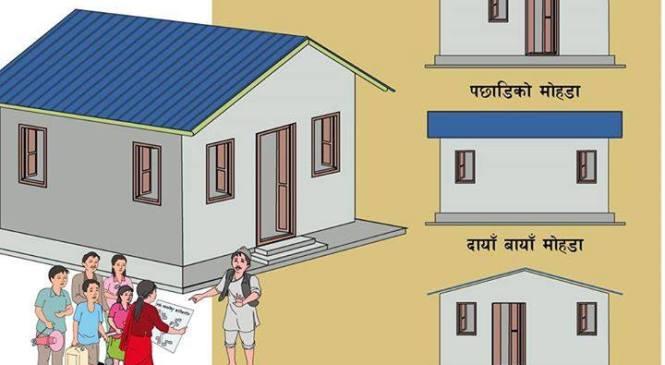 विकासभन्दा देखाउने कार्यक्रम जनता आवासको बजेट