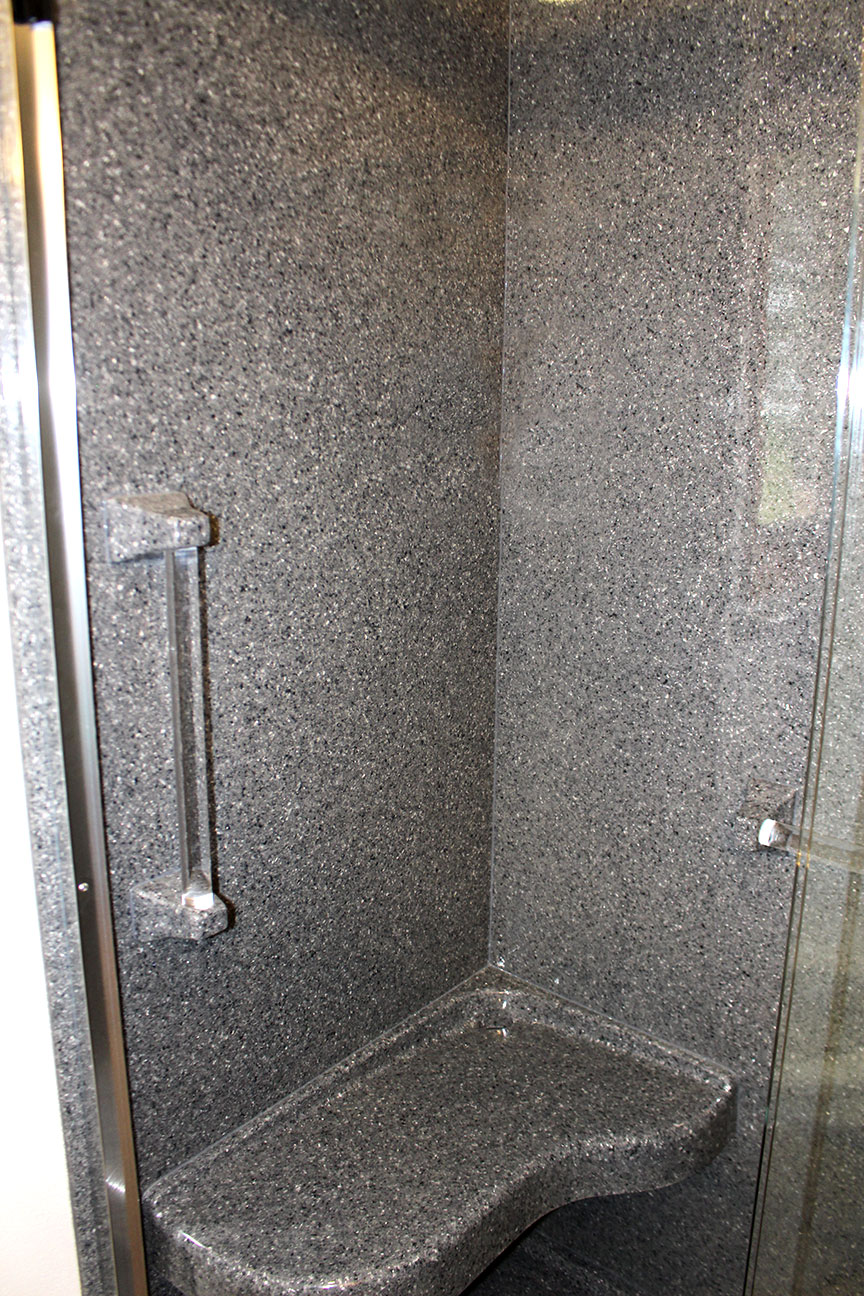 Incroyable Grey Pearl Onyx Shower