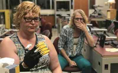 Gettysburg High School students create 3D-printed hand for amputee