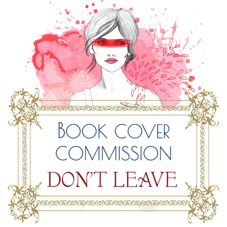 BOOK COVER COMMISSION_DON'T LEAVE