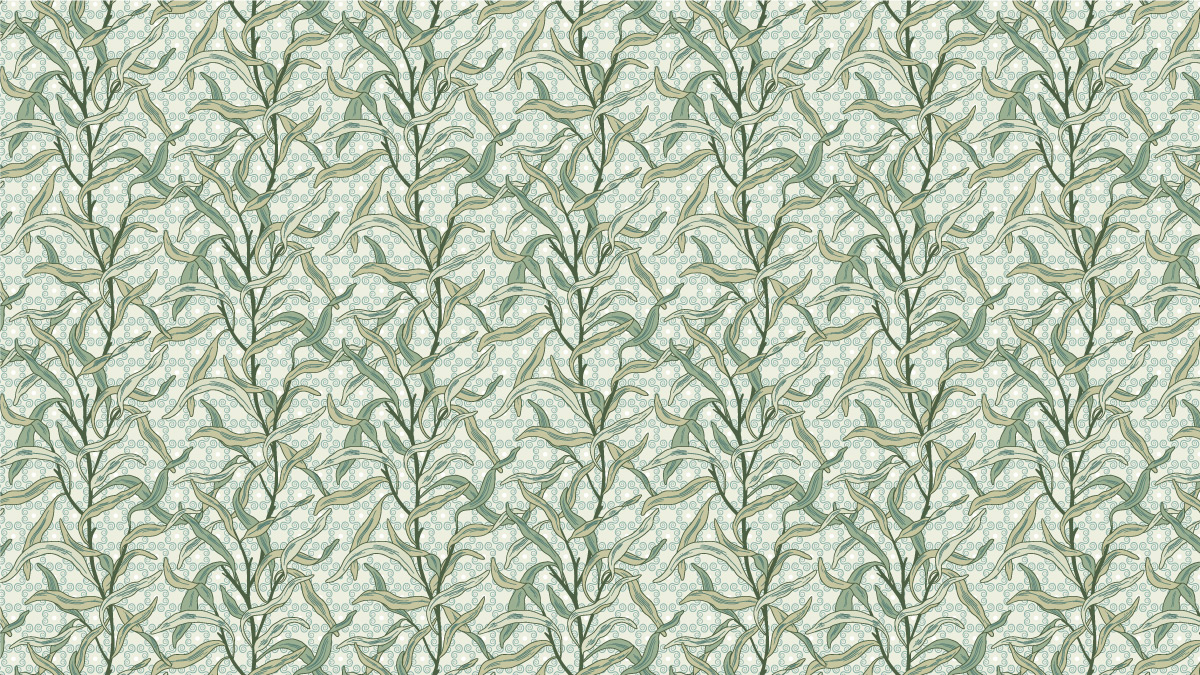 Selma, tropical pattern design created by Pascûal