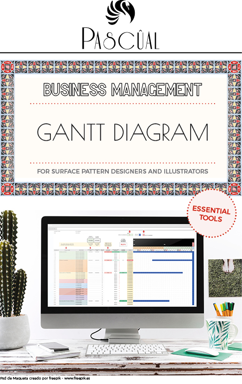 Gantt Diagram Planner for Pattern Designers