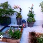 Une cour-terrasse japonaise dans le Nord