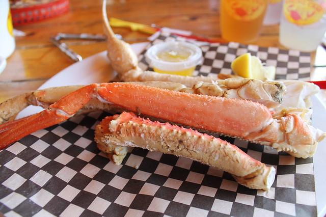 Alaskan bairdi legs en Braking Crab Boston