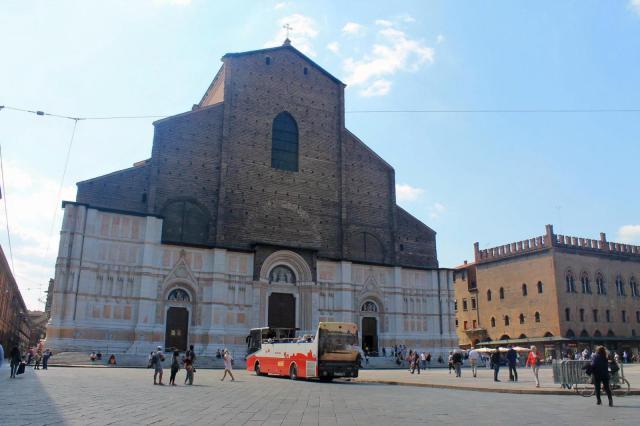 Basílica de San Petronio Bolonia Italia