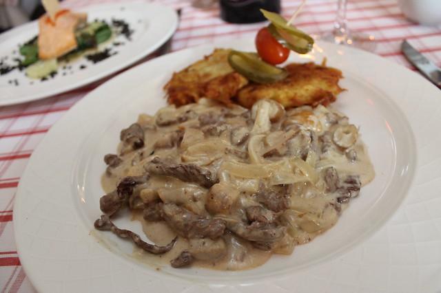 Beef Stroganoff Pasternak Berlin