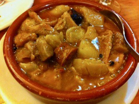 Callos a la madrileña El Paisano Madrid Restaurantes en Chamberí