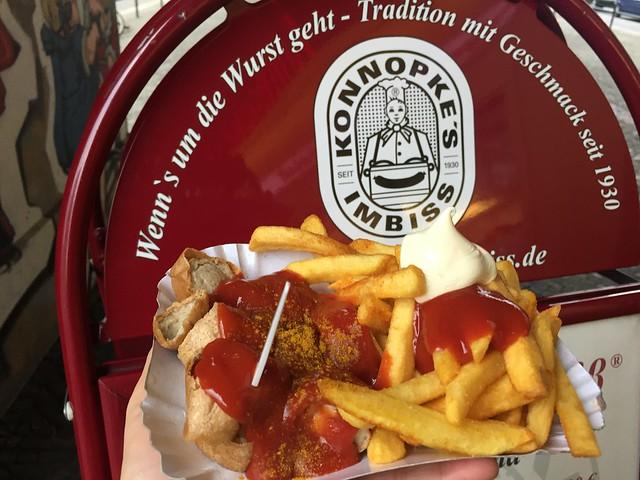 Currywurst Konnopkes Imbiss Berlin