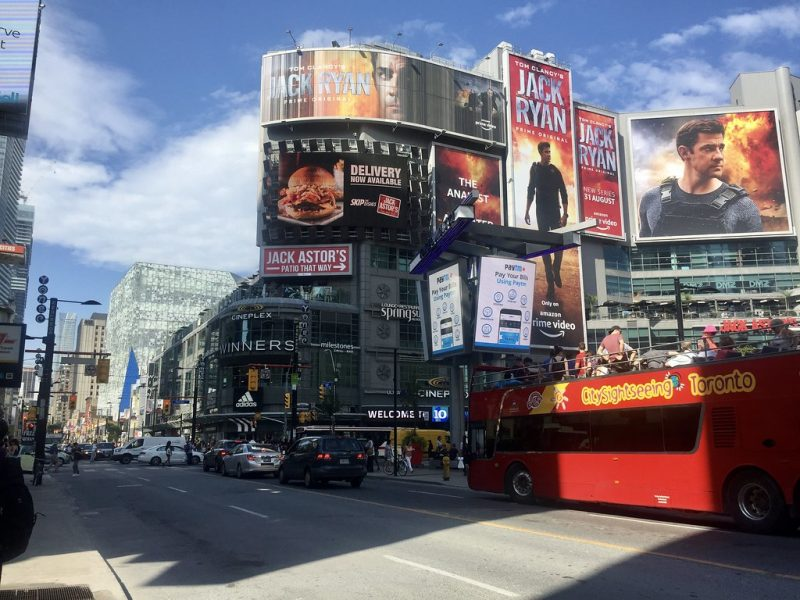 Dundas Square Toronto Canada