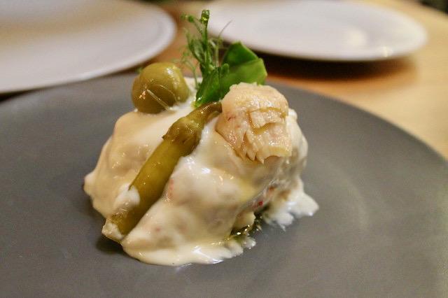 Ensaladilla rusa con mayonesa canalla, en 'Gloria'