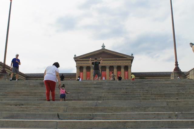 Escaleras de Rocky Filadelfia