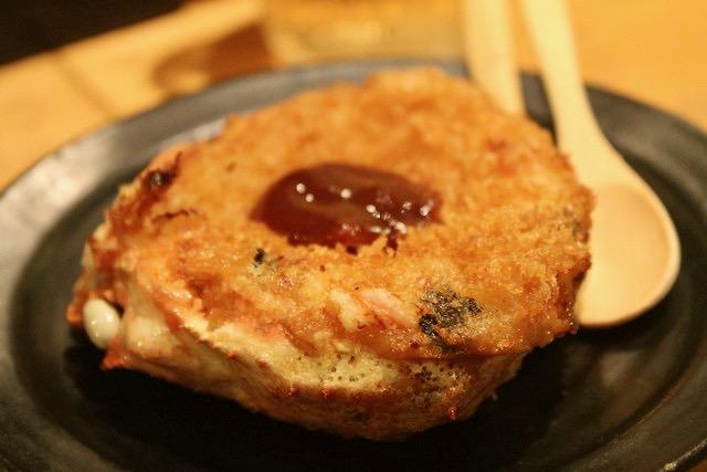 Comida japonesa Kani guratan