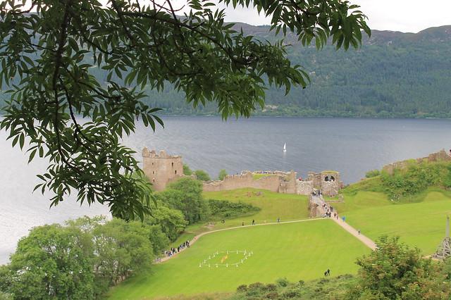 Lago Ness Highlands Escocia